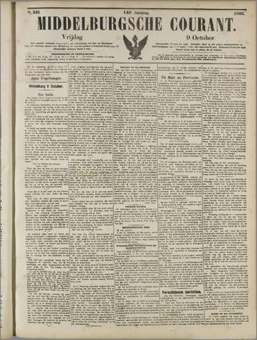 Middelburgsche Courant 1903-10-09