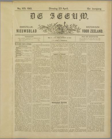 De Zeeuw. Christelijk-historisch nieuwsblad voor Zeeland 1901-04-23