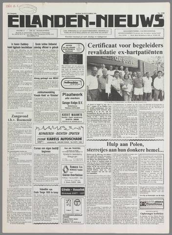 Eilanden-nieuws. Christelijk streekblad op gereformeerde grondslag 1990-09-28