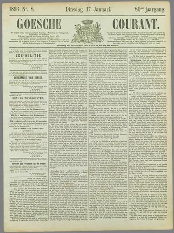 Goessche Courant 1893-01-17
