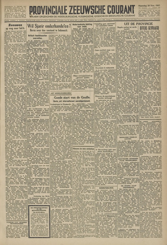 Provinciale Zeeuwse Courant 1945-11-26