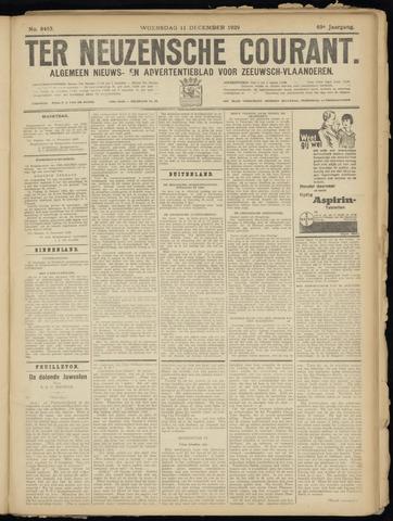 Ter Neuzensche Courant. Algemeen Nieuws- en Advertentieblad voor Zeeuwsch-Vlaanderen / Neuzensche Courant ... (idem) / (Algemeen) nieuws en advertentieblad voor Zeeuwsch-Vlaanderen 1929-12-11