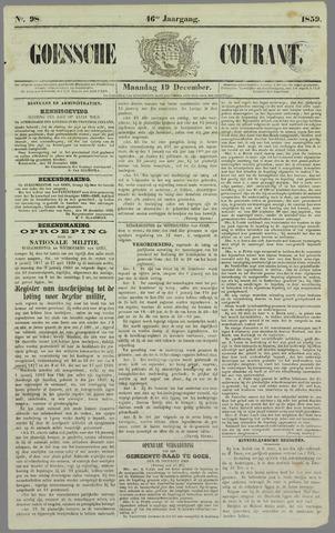Goessche Courant 1859-12-19
