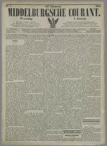 Middelburgsche Courant 1890