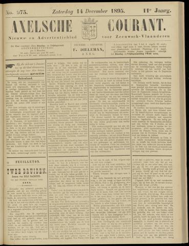 Axelsche Courant 1895-12-14