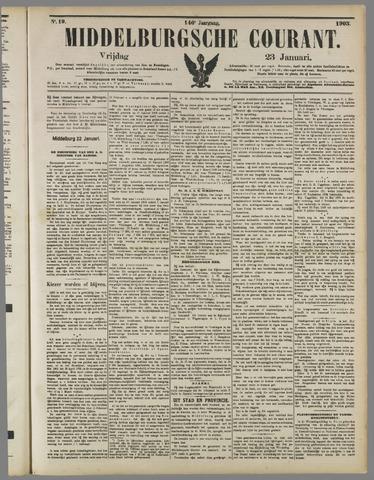 Middelburgsche Courant 1903-01-23