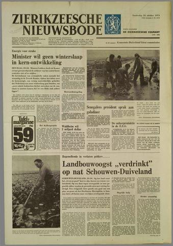 Zierikzeesche Nieuwsbode 1974-10-24