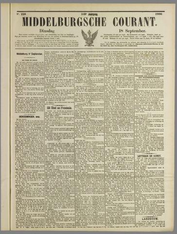 Middelburgsche Courant 1906-09-18