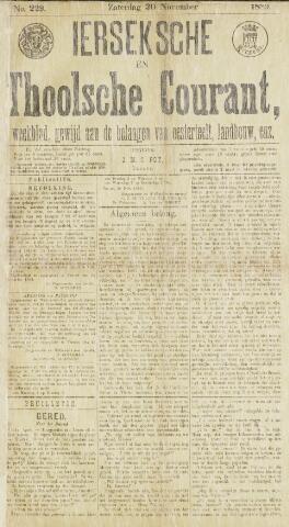 Ierseksche en Thoolsche Courant 1889-11-30