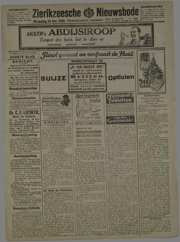 Zierikzeesche Nieuwsbode 1925-12-23