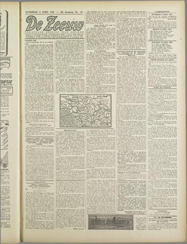 De Zeeuw. Christelijk-historisch nieuwsblad voor Zeeland 1944-04-08