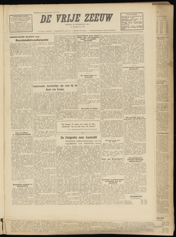 de Vrije Zeeuw 1949-08-26