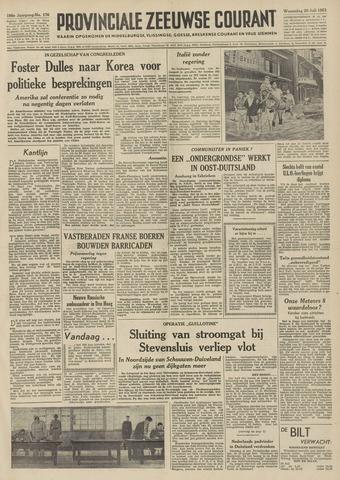 Provinciale Zeeuwse Courant 1953-07-29