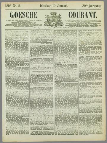 Goessche Courant 1893-01-10