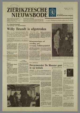 Zierikzeesche Nieuwsbode 1974-05-07