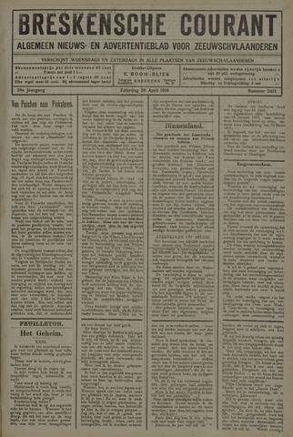 Breskensche Courant 1919-04-26
