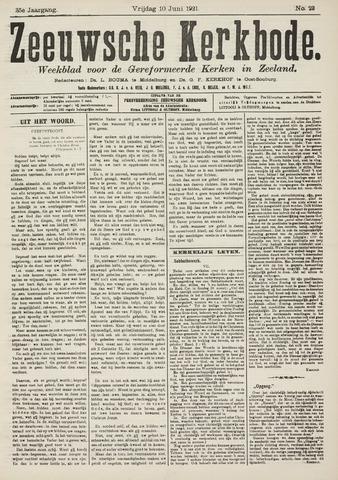 Zeeuwsche kerkbode, weekblad gewijd aan de belangen der gereformeerde kerken/ Zeeuwsch kerkblad 1921-06-10