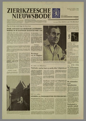 Zierikzeesche Nieuwsbode 1973-10-09