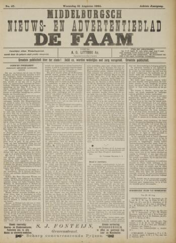 de Faam en de Faam/de Vlissinger 1904-08-31