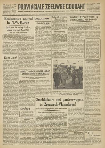 Provinciale Zeeuwse Courant 1950-11-25