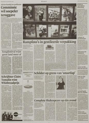 Watersnood documentatie 1953 - kranten 2003-01-29