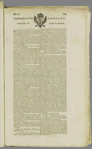Middelburgsche Courant 1809-08-03