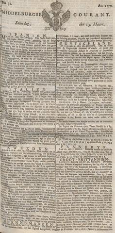 Middelburgsche Courant 1779-03-13