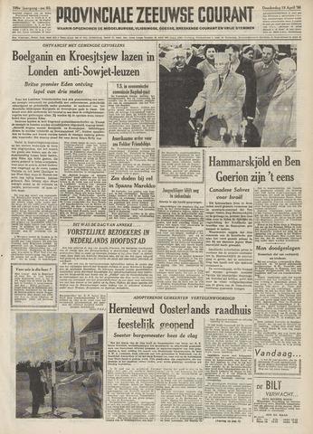 Provinciale Zeeuwse Courant 1956-04-19