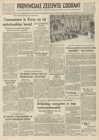Provinciale Zeeuwse Courant 1953-07-20