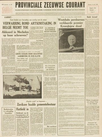 Provinciale Zeeuwse Courant 1964-04-14