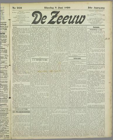 De Zeeuw. Christelijk-historisch nieuwsblad voor Zeeland 1920-06-08