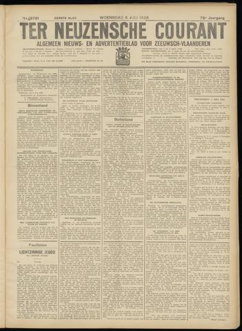 Ter Neuzensche Courant. Algemeen Nieuws- en Advertentieblad voor Zeeuwsch-Vlaanderen / Neuzensche Courant ... (idem) / (Algemeen) nieuws en advertentieblad voor Zeeuwsch-Vlaanderen 1938-07-06