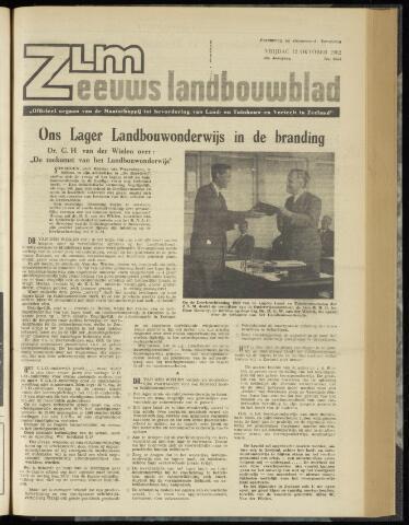 Zeeuwsch landbouwblad ... ZLM land- en tuinbouwblad 1962-10-12