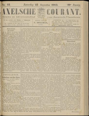 Axelsche Courant 1913-08-23