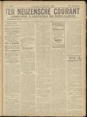 Ter Neuzensche Courant. Algemeen Nieuws- en Advertentieblad voor Zeeuwsch-Vlaanderen / Neuzensche Courant ... (idem) / (Algemeen) nieuws en advertentieblad voor Zeeuwsch-Vlaanderen 1928-12-05