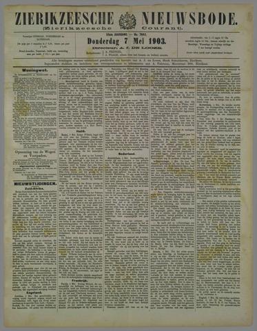 Zierikzeesche Nieuwsbode 1903-05-07