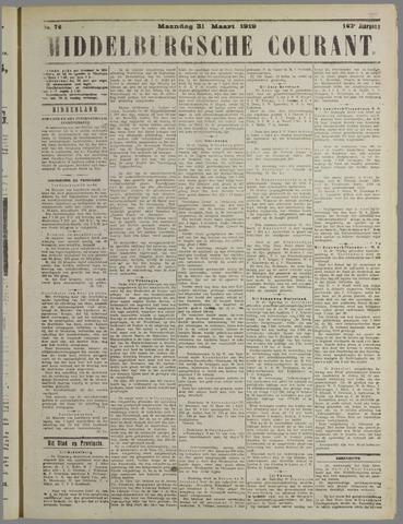 Middelburgsche Courant 1919-03-31