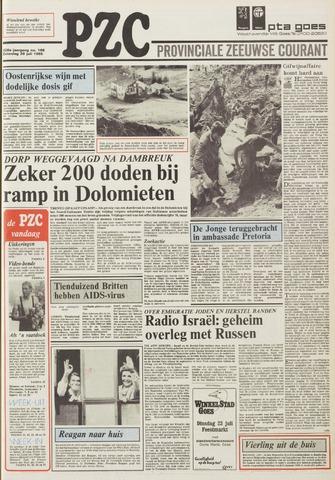 Provinciale Zeeuwse Courant 1985-07-20