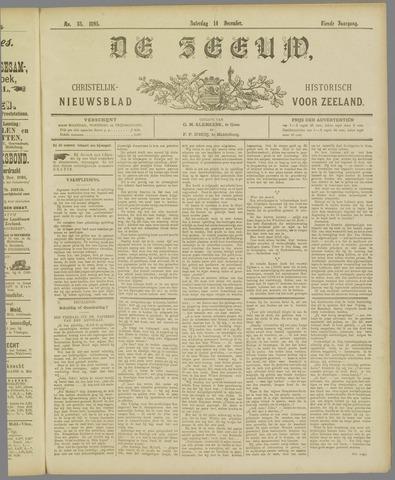 De Zeeuw. Christelijk-historisch nieuwsblad voor Zeeland 1895-12-14