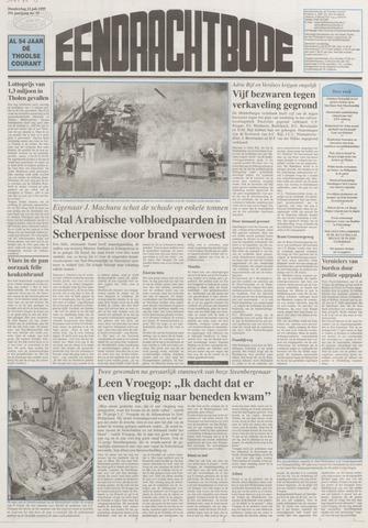 Eendrachtbode (1945-heden)/Mededeelingenblad voor het eiland Tholen (1944/45) 1999-07-15