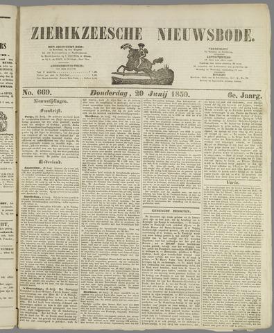 Zierikzeesche Nieuwsbode 1850-06-20