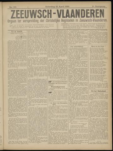 Luctor et Emergo. Antirevolutionair nieuws- en advertentieblad voor Zeeland / Zeeuwsch-Vlaanderen. Orgaan ter verspreiding van de christelijke beginselen in Zeeuwsch-Vlaanderen 1919-04-19