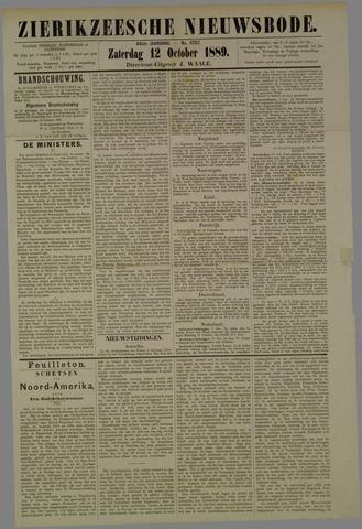 Zierikzeesche Nieuwsbode 1889-10-12