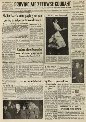 Provinciale Zeeuwse Courant 1956-02-29