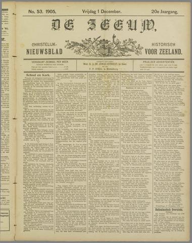 De Zeeuw. Christelijk-historisch nieuwsblad voor Zeeland 1905-12-01