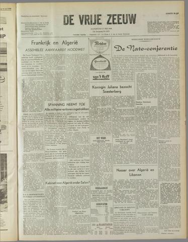 de Vrije Zeeuw 1958-05-17