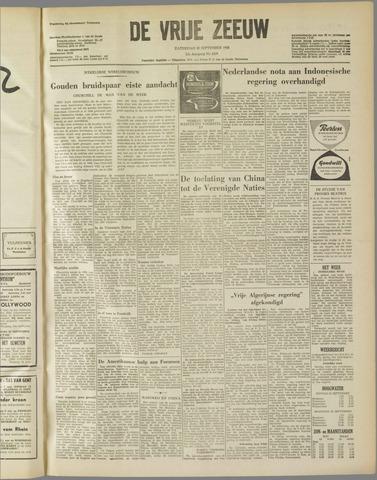 de Vrije Zeeuw 1958-09-20