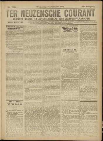Ter Neuzensche Courant. Algemeen Nieuws- en Advertentieblad voor Zeeuwsch-Vlaanderen / Neuzensche Courant ... (idem) / (Algemeen) nieuws en advertentieblad voor Zeeuwsch-Vlaanderen 1926-02-24