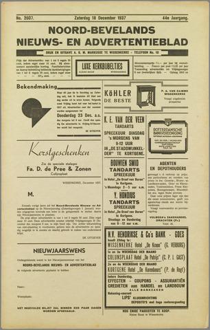 Noord-Bevelands Nieuws- en advertentieblad 1937-12-18
