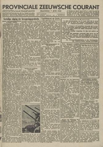 Provinciale Zeeuwse Courant 1943-06-07